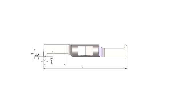 Mini Schneideinsätze Ø7,0 Vorstechen und Fasen