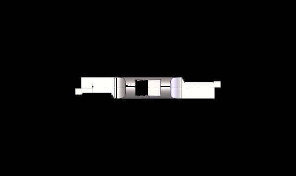 Mini Schneideinsätze Ø5,5 Innen-Axial-Nut-Stechen