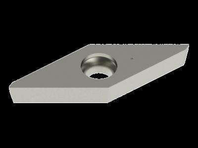 Carbide WIPER Insert for Cast Iron, Copper Alloys and Plastics