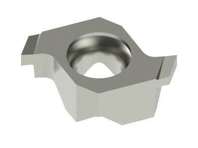Carbide Grooving Insert for Cast Iron, Copper Alloys and Plastics
