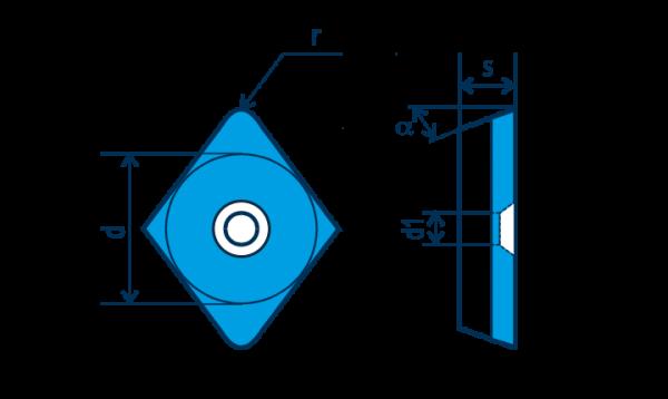PKD-Wendeplatte EPGW