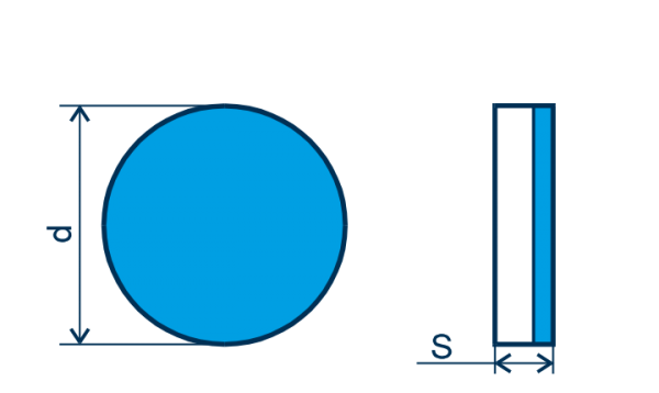 CBN Wendeplatte RNGN, E=gebürstet