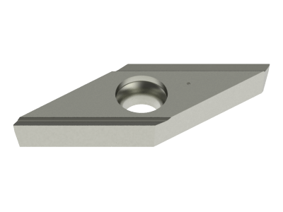 Carbide WIPER Insert for Steel, Stainless Steel, Copper Alloys, Plastics and Special Alloys