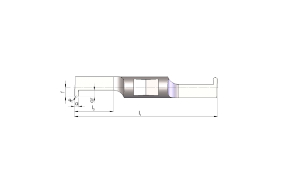 Mini Schneideinsätze Ø4,5 Innen-Nuten Stechen