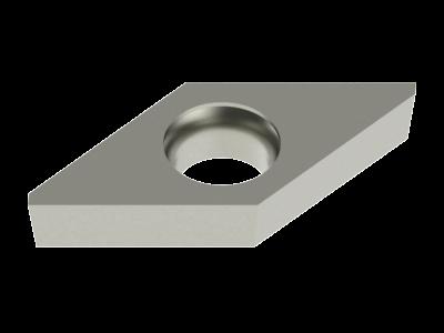 Carbide WIPER Insert for Steel, Cast Iron, Copper Alloys and Plastics