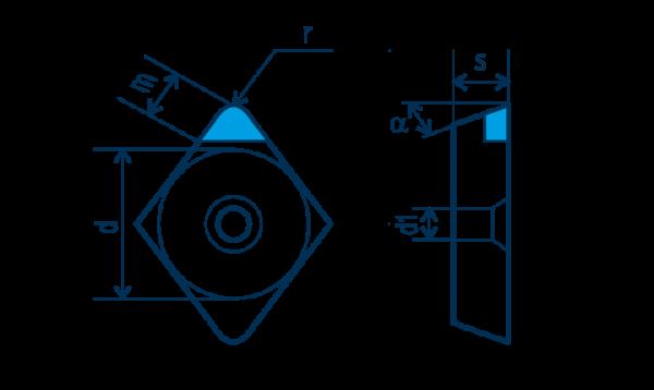 PKD-Wendeplatte ECGW