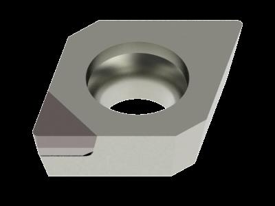 Tipped Insert for Aluminium, Copper Alloys, Plastics and Composites