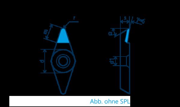 PKD-Wendeplatte VCGT