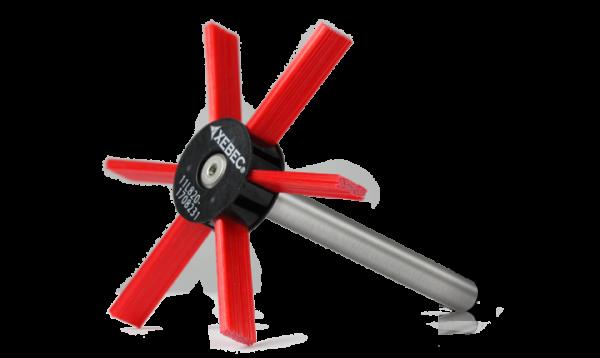 Keramikfaser-Rundbürste Wheel Type