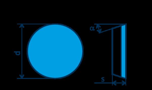 PKD-Wendeplatte RPGN