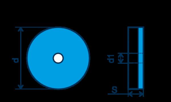 CBN Wendeplatte RNGA, E=gebürstet