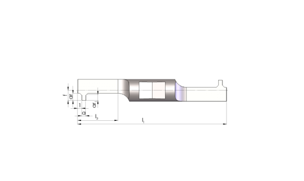 Mini Schneideinsätze Ø5,5 Innen-Nuten Stechen