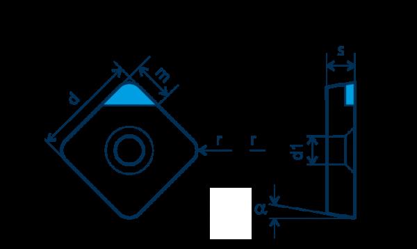 PKD-Wendeplatte SPGW