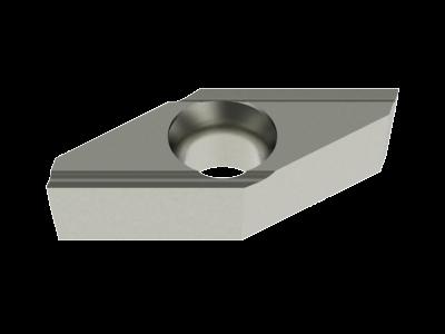 Carbide WIPER Insert for Steel, Stainless Steel, Aluminium, Copper Alloys and Plastics