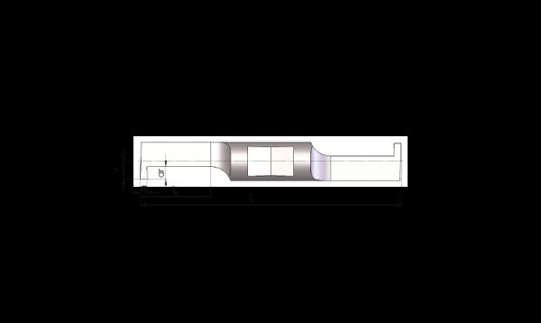 Mini Schneideinsätze Ø7,0 Innen-Nuten Stechen