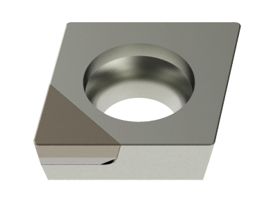 Tipped Insert for Aluminium, Copper Alloys, Plastics and Composites