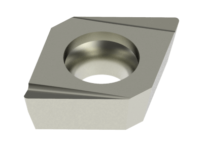 Superior Insert for Steel, Stainless Steel, Copper Alloys and Composites